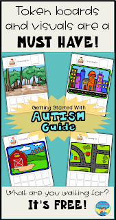 Get Started with Autism with this free download from Looks Like Language!