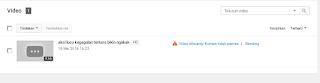 cara mengatasi akun youtube kena strike atau peringatan