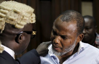 Nnamdi Kanu's Lawyer Banned from Legal Practice in Nigeria