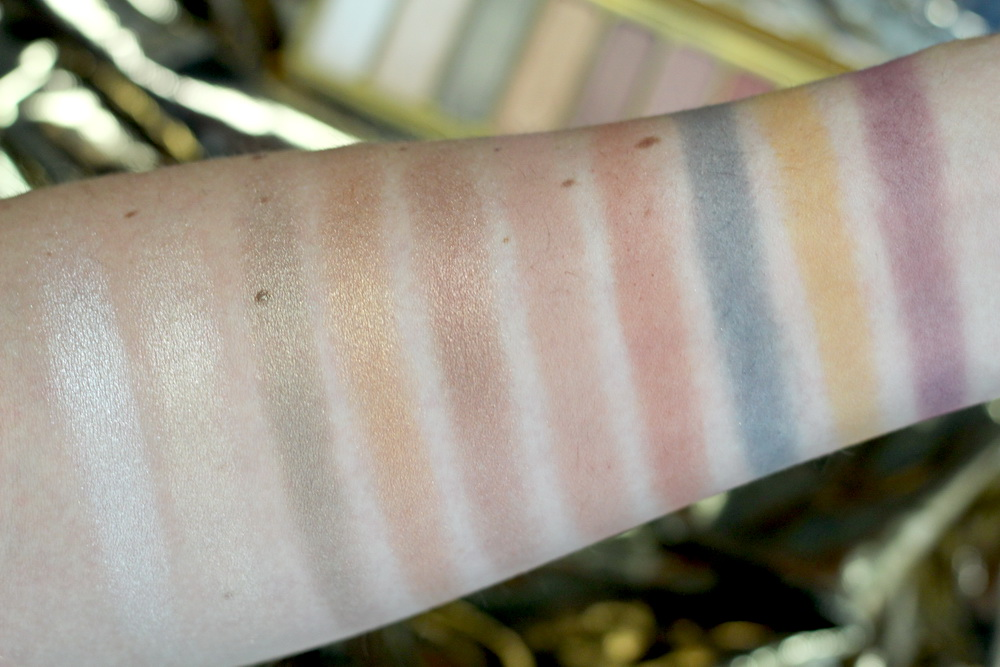 elf Modern Metals eyeshadow swatch