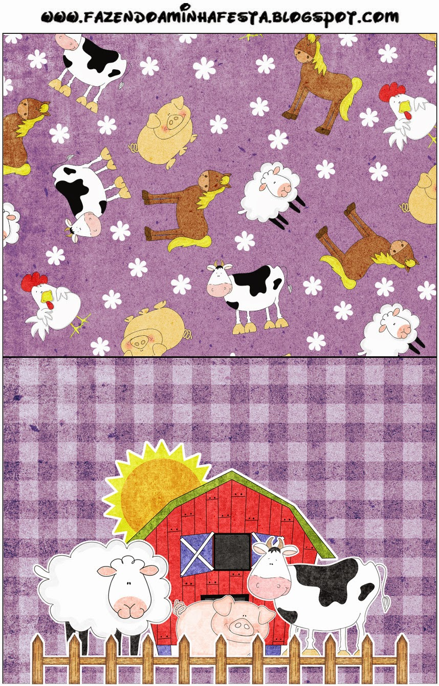 The Farm in Purple: Free Printable Candy Bar Labels.