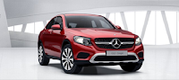 Mercedes GLC 300 4MATIC Coupe 2019 màu Đỏ Hyacinth 996