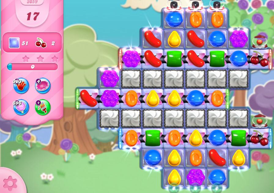 Candy Crush Saga level 3059