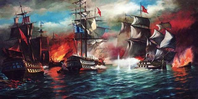 Οι μεγάλες ναυμαχίες της Ελληνικής Επανάστασης του 1821