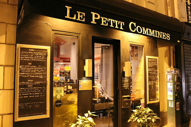 Restaurant bistronomique le petit commines paris marais maitre restaurateur