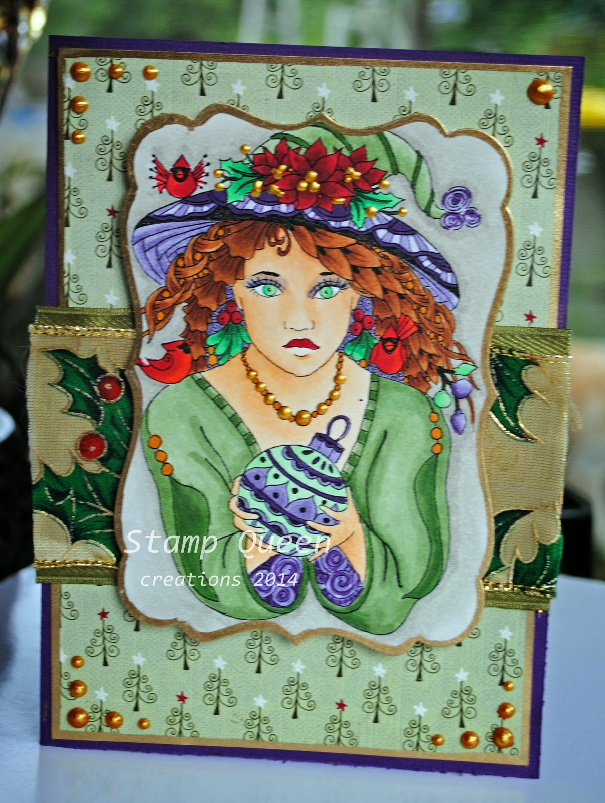 Sweet Pea Stamps: The Gift By Norma J Burnell