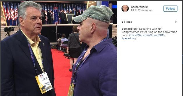 Donald Trump's Reality Show America: Where eight-time convicted felons on probation like Bernard Kerik roam RNC Convention Hall