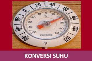 Konversi Suhu Celcius Reamur Kelvin dan Farenheit
