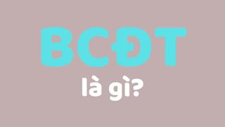 bcđt là gì