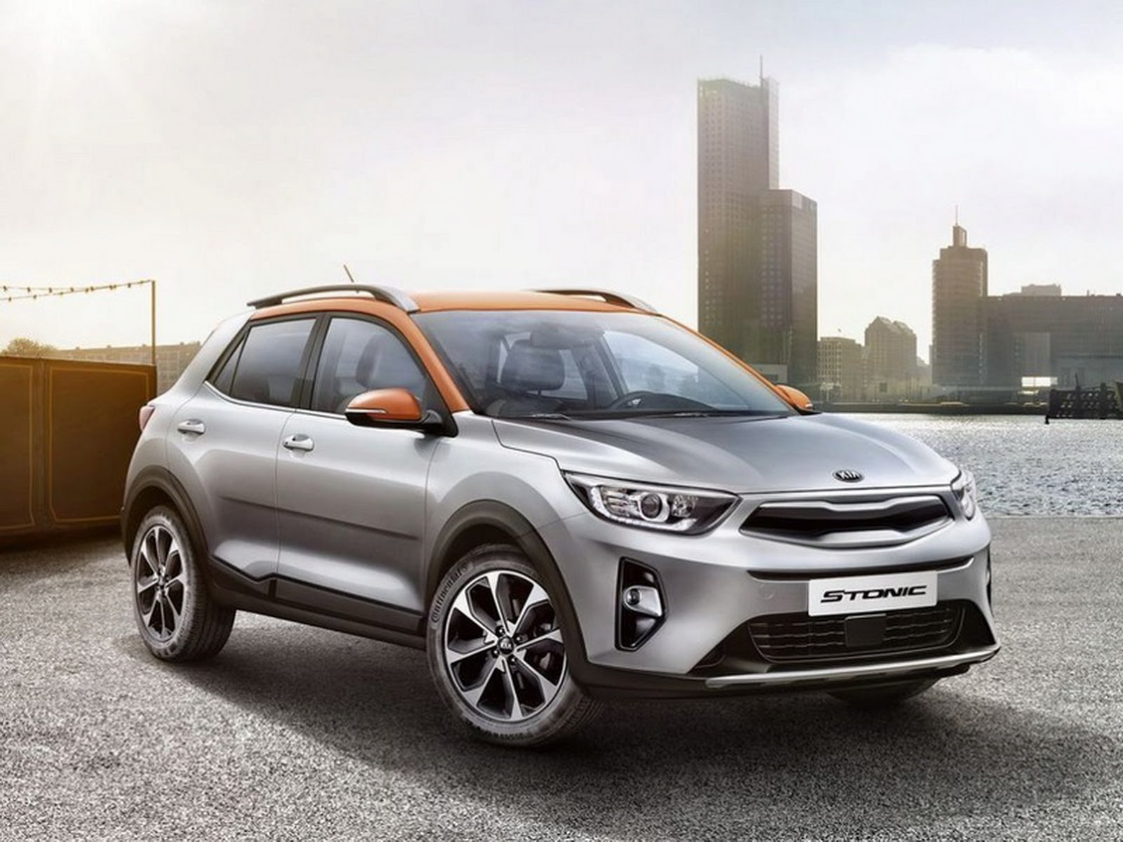 2018 kia stonic mini crossover gets an early reveal carscoops. Black Bedroom Furniture Sets. Home Design Ideas