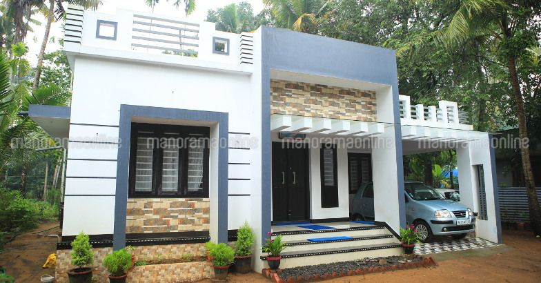 Budget Contemporary 3 Bedroom Home in 1300 Sqft for 20 Lakhs