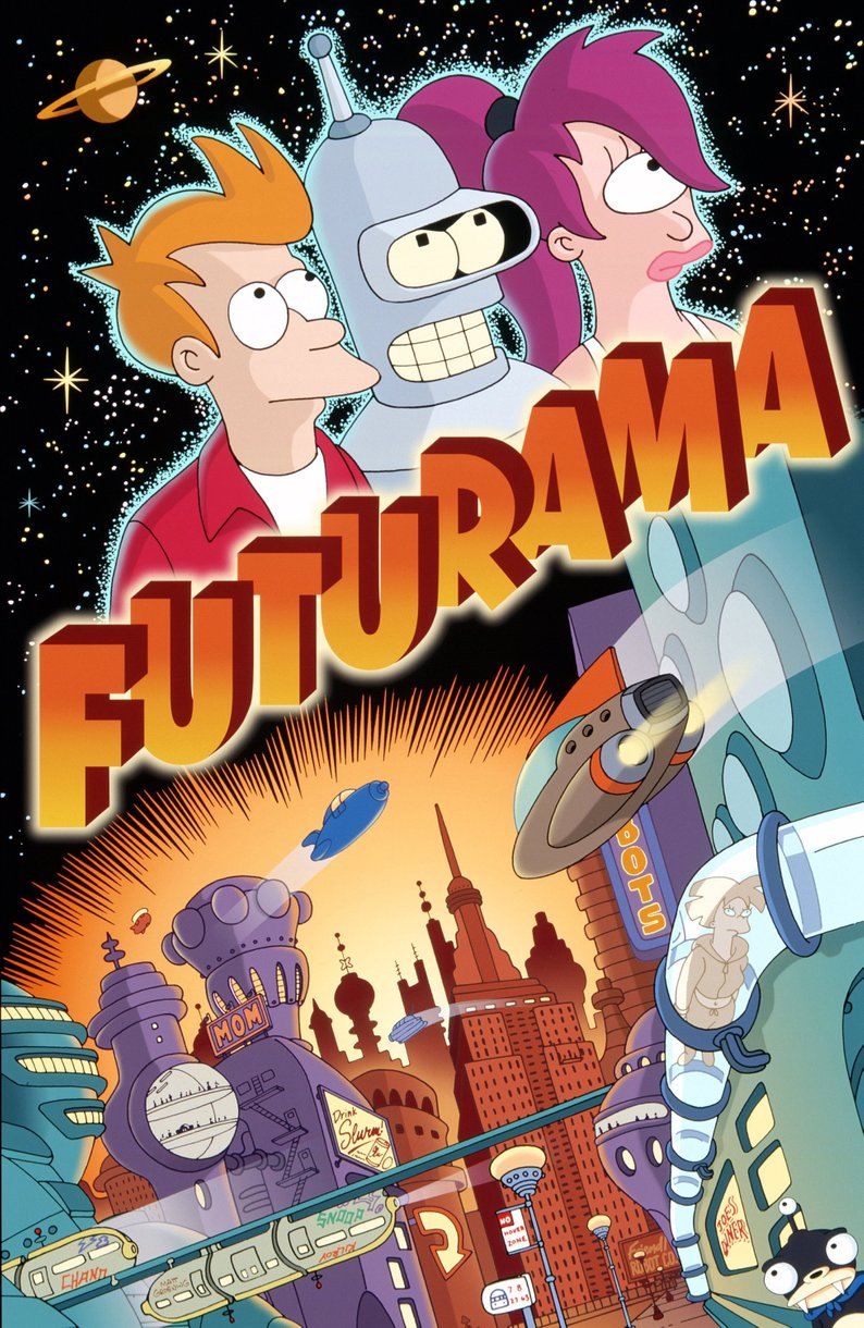 Futurama 720p-1080p Dual Latino/Ingles