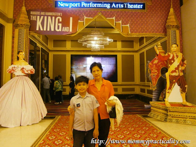 Watching The King And I at Resorts World Manila