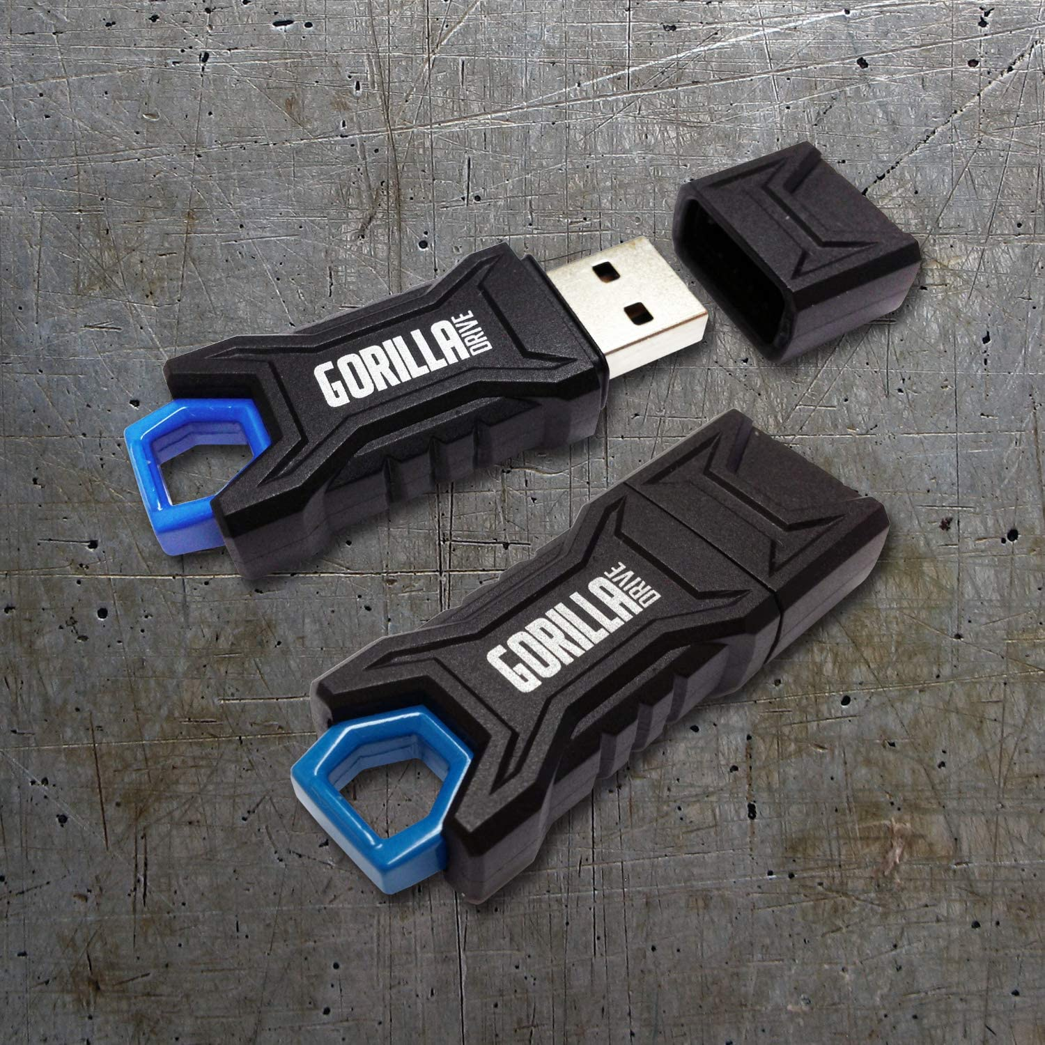 GorillaDrive Ruggedized USB Flash Drive