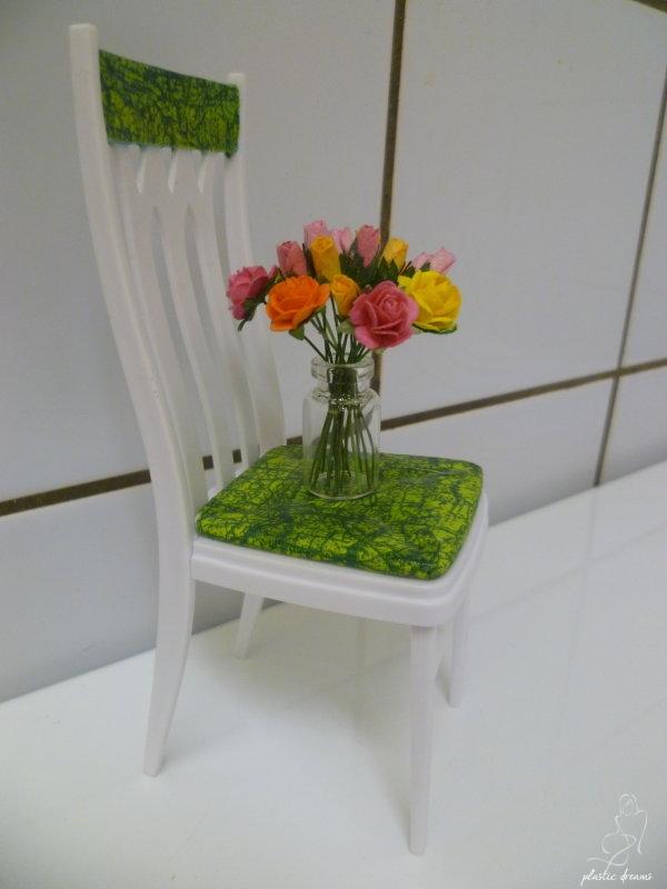 DIY chaise Barbie