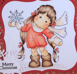 Heather's Hobbie Haven - Snowy Tilda Card Kit