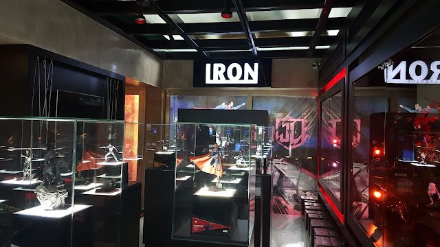 Expo Justice League Iron Studios