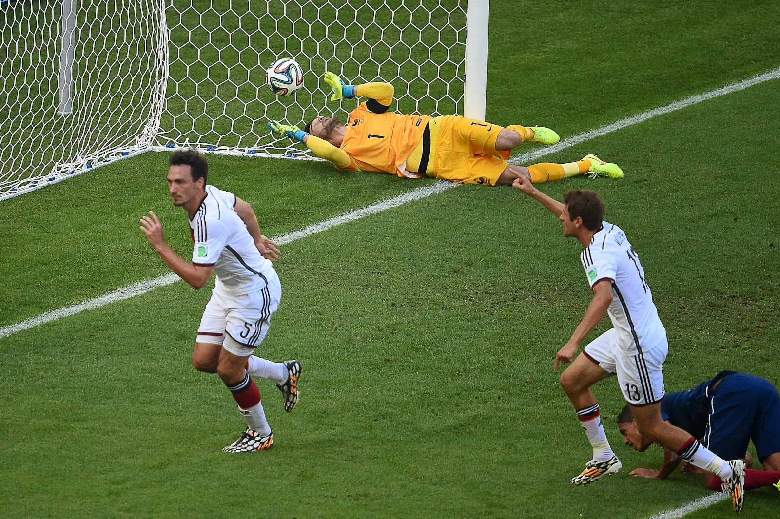 FIFA World Cup 2014: France vs Germany 58th Match in ...