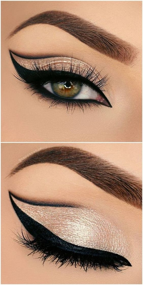 awesome cat eyes makeup