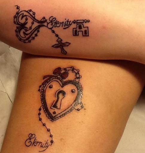 A Eternidade Chave Tatuagens
