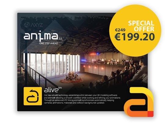 Anima 3 5 5 for 3ds max, Cinema 4D & Unreal Engine 4 - Plugins