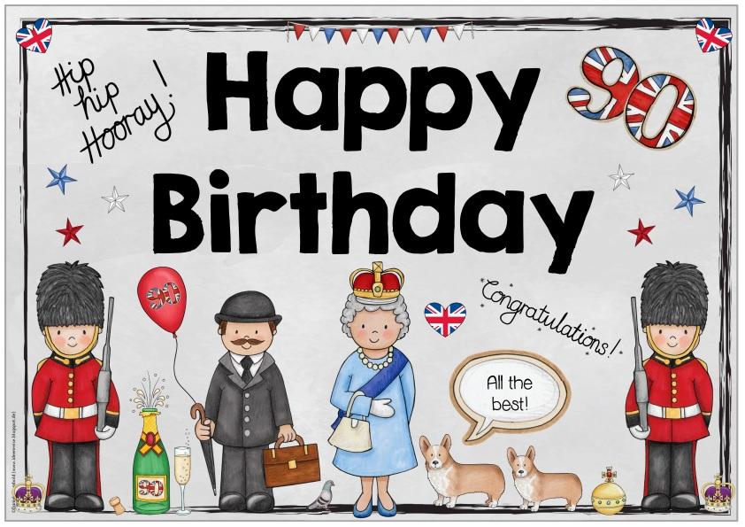 Ideenreise Blog Plakat Happy Birthday