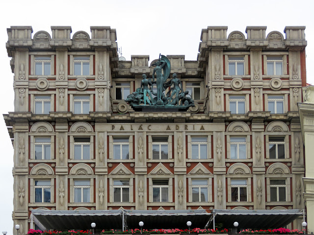Palác Adria (Adria Palace) by Josef Zasche and Pavel Janák, Jungmannova / Národní, Nové Město, Prague