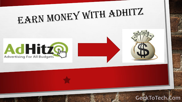 Earn Money With AdHitz.com