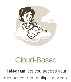 Run like Hell: Telegram on two devices