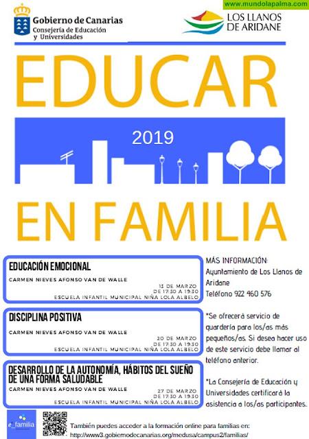 El Ayuntamiento organiza una nueva edición del programa gratuito de Educación para Padres