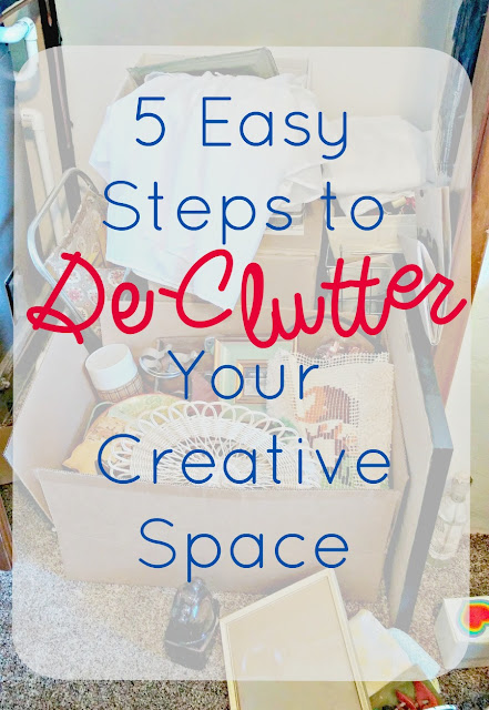 How to de-clutter in 5 easy steps
