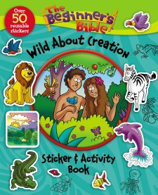 Review: The Beginner's Bible Sticker & Activity Book l LadyD Books