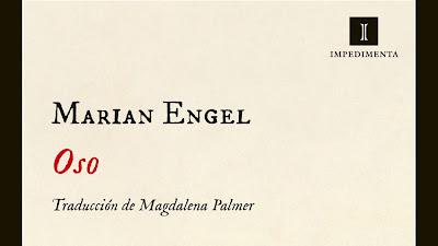 """Oso"", de Marian Engel"