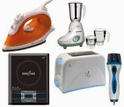 Small Home Appliances (Iron, Mixer Grinder, Induction Cooktop, Toaster) upto 70% Off @ Flipkart
