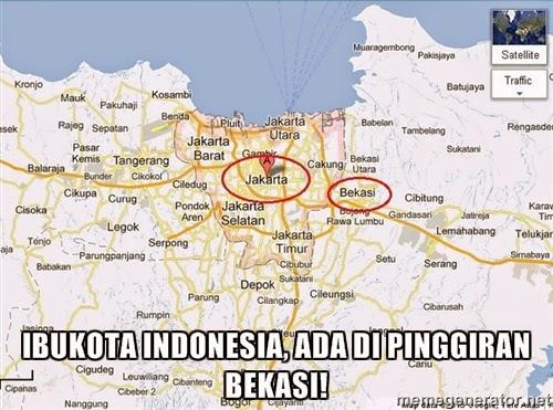 Jakarta Pinggiran Bekasi