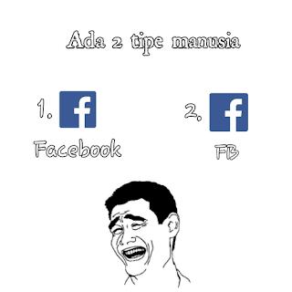 Meme Kekinian Ada 2 Tipe Orang di Dunia Ini