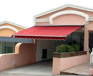 awning gulung hotel, rumah, restoran, distro