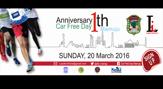 Annyversary 1 th Car Free Day