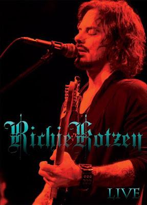 richie kotzen - live dvd - cover
