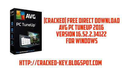 [CRACKED] Direct Download AVG PC TuneUp 2016 V. 16.52.2.34122 (x64, x86)