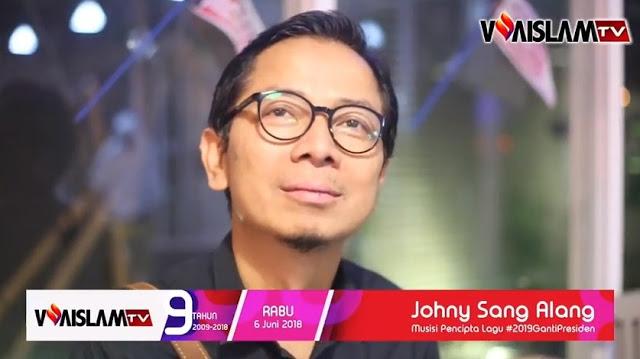 Johny Sang Alang: Lagu #2019GantiPresiden Bukan Pesanan Parpol Manapun, Saya Buat dari Kocek Pribadi