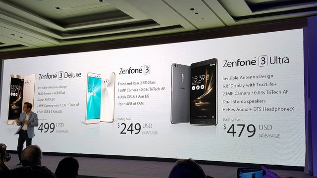 Asus Zenfone 3 Official Launching In Taipei, One of Them Bring 6GB Ram