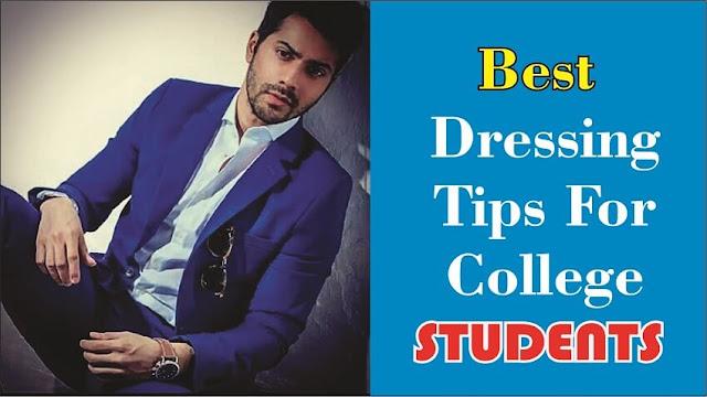Dressing sense for college guys