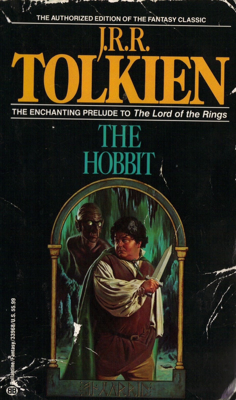 The Hobbit Book Cover Art : But is it canon the hobbit this worst cover art