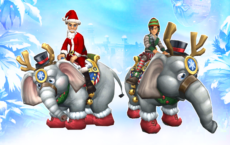Wizard101 Noelephant 2013 Charity Mount