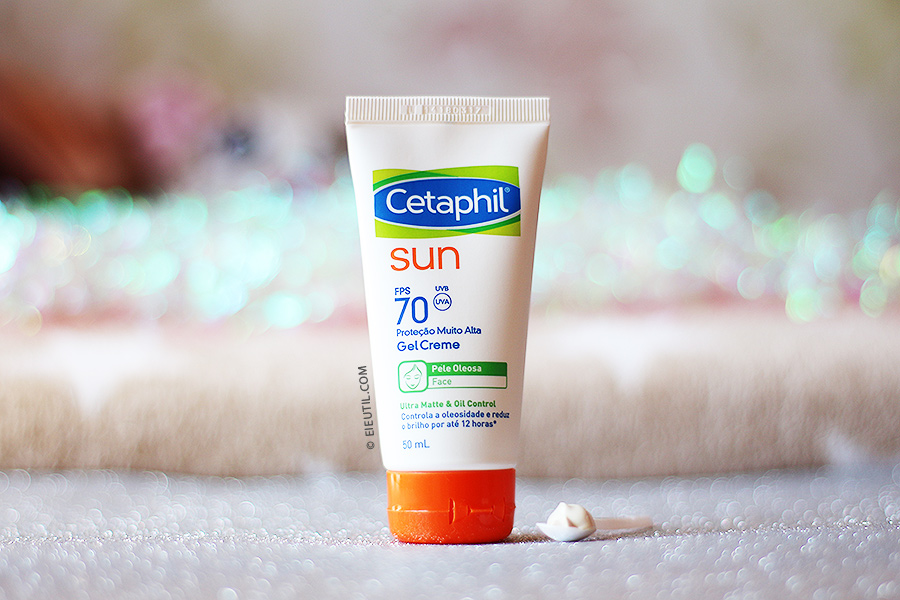 Protetor Solar Sun Ultra Matte & Oil Control FPS 70 - Cetaphil