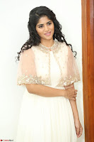 Megha Akash in beautiful Cream Transparent Anarkali Dress at Pre release function of Movie LIE ~ Celebrities Galleries 048.JPG