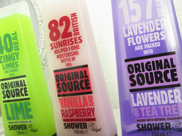 Original Source Shower Vegane Duschgele