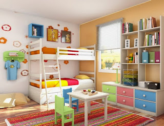 ديكور-ديكورات-غرف نوم - افكار سهلة وبسيطة - غرف اطفال