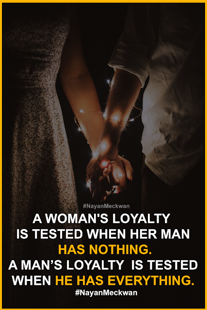 Loyalty Image quote and sayings | Picture thought